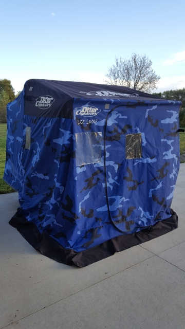 Classifieds otter lodge portable fish house for Lodge fish house
