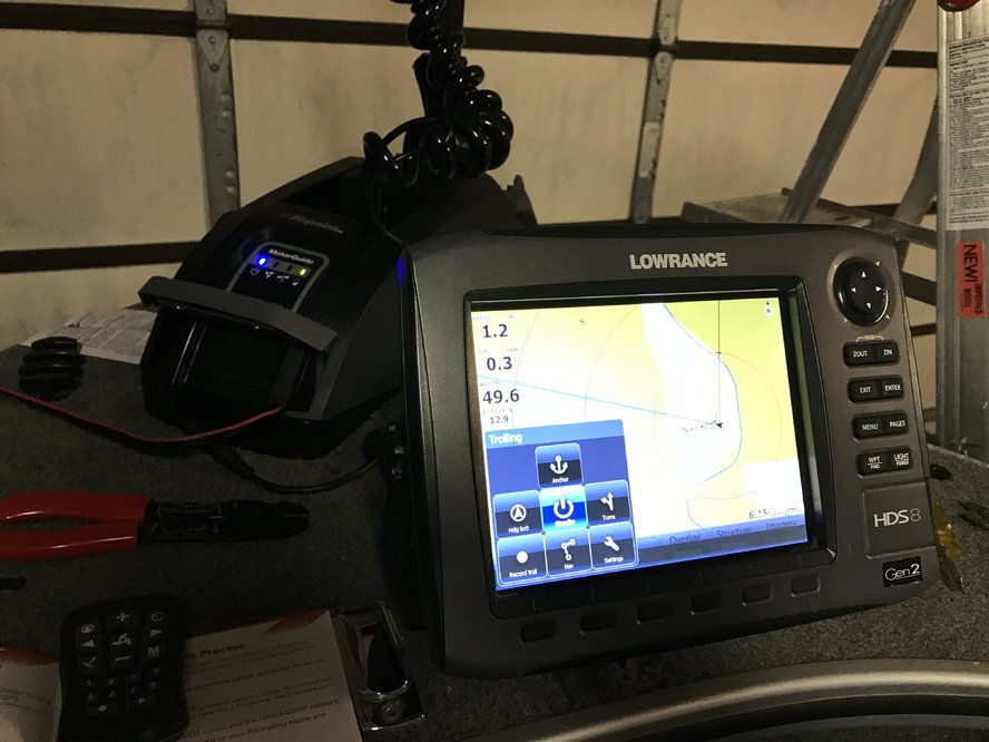 Xi5 Gateway to Lowrance HDS question