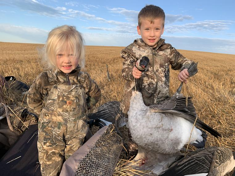 Took my 3-year-old on her first hunt, as promised. No. 1 son is starting his fourth season afield (his first hunt was on his 3rd birthday). Day I...
